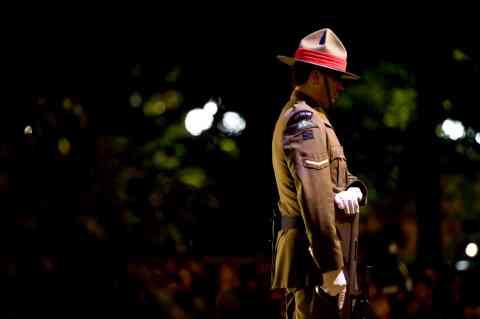 ANZAC Dawn Soldier