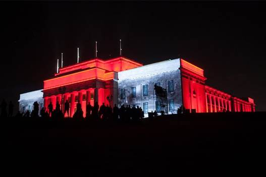Auckland Museum illuminate