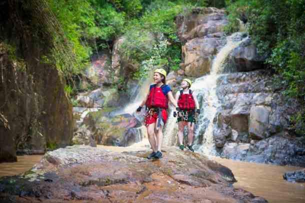 Da Lat, Vietnam, Waterfall Canyoning