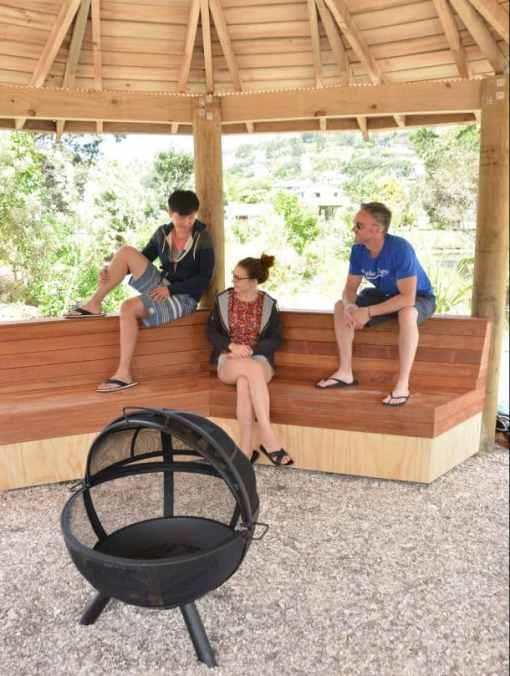Hahei Holiday Resort gazebo