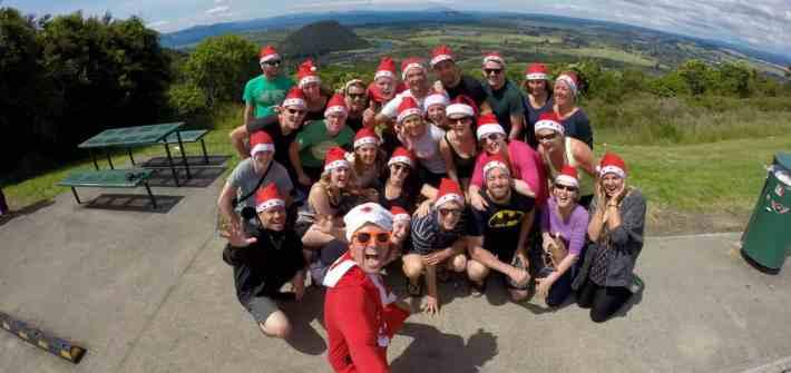 New Zealand Christmas with Stray at Lake Taupo