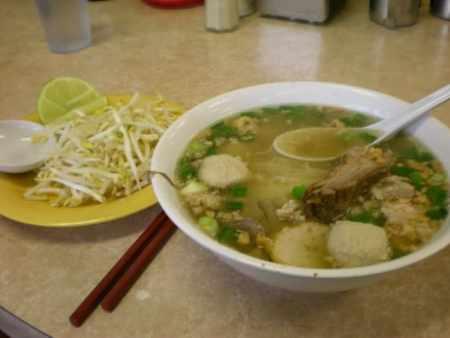 Kuy Teav Cambodian Noodle Soup