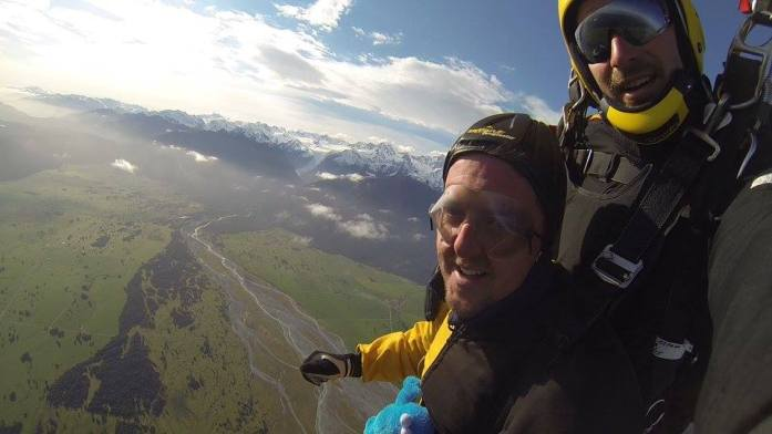 Kookie Skydive Fox Glacier