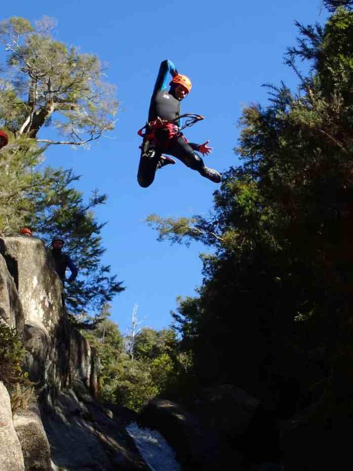 Abel Tasman Canyons 8m leap of faith