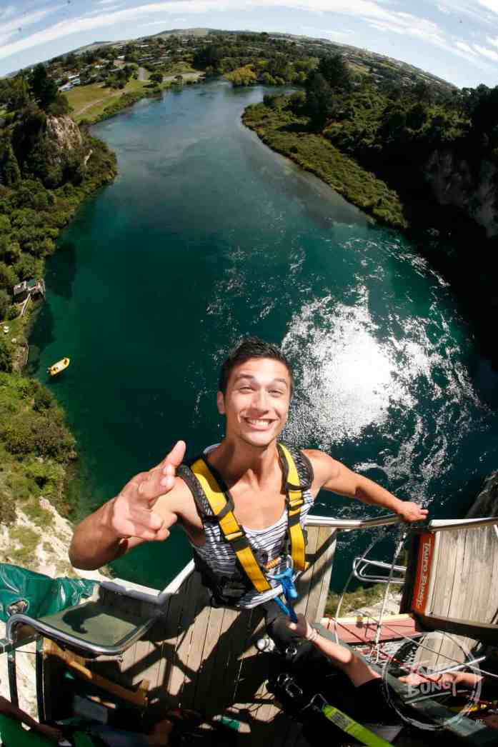 Take in the view at Taupo Bungy