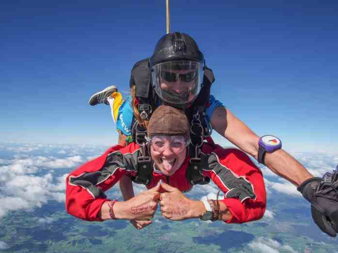 Stray NZ - Skydive Bay of Islands - send a message during your skydive