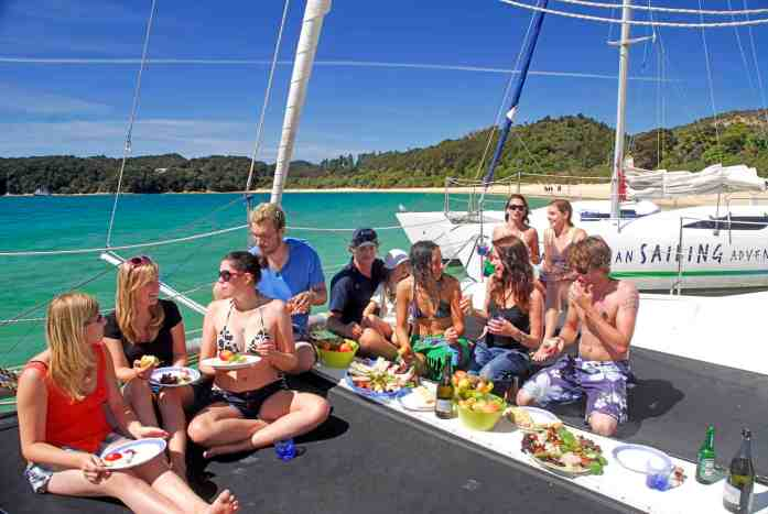 Abel Tasman Sailing Adventures - small groups - Stray NZ
