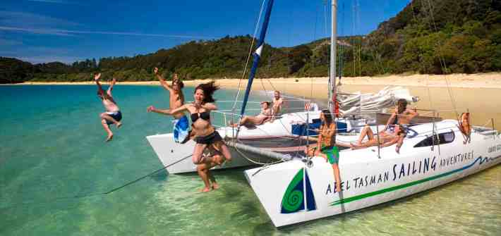 Abel Tasman Sailing Adventures - Stray New Zealand