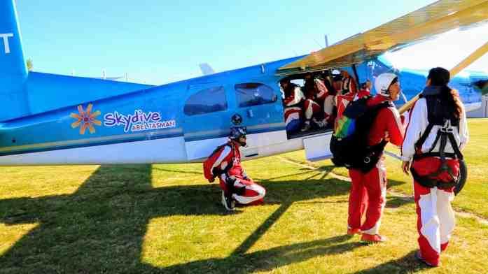 Skydive Abel Tasman - Google Street View takeoff