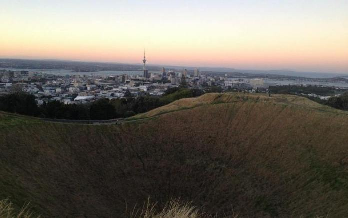 Mount Eden Crater and City View