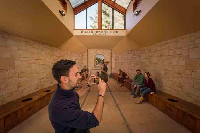 Wanaka Puzzling World - Roman Toilets - Stray NZ