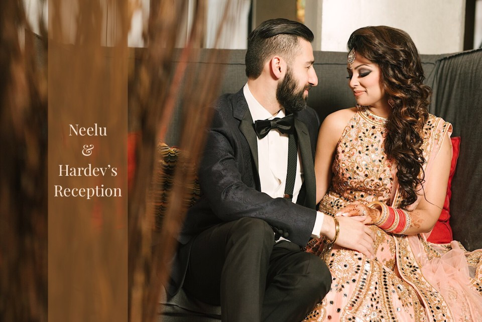 Neelu Hardevs Indian Wedding Reception Strokes Photography