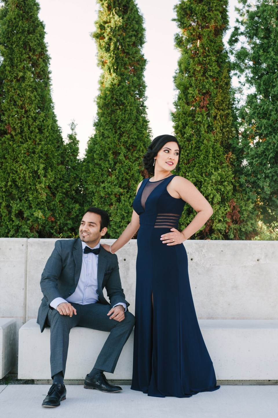 aga khan museum engagement session