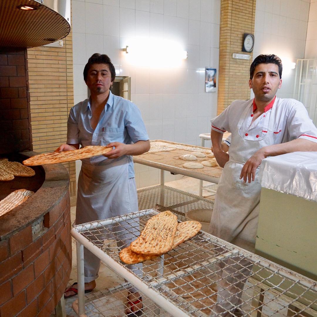 Хлеб в Иране 2