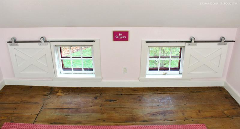 DIY How To Make Barn Door Window Coverings Building Strong