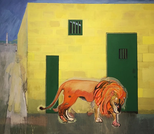 peter doig review, stuart bush studio notes