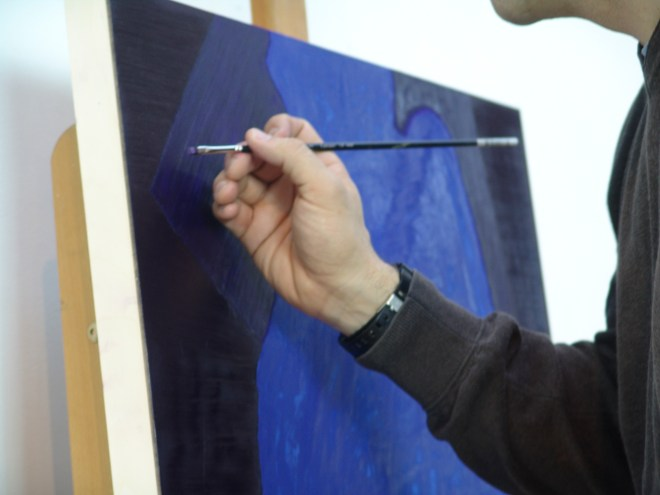 Stuart Bush Studio Blog, When it is advisable to wrong, My typical day as a painter