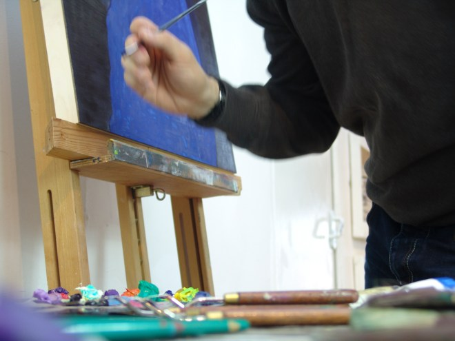 Stuart Bush Studio Blog, increasing learning in the studio, when it is advisable to be wrong