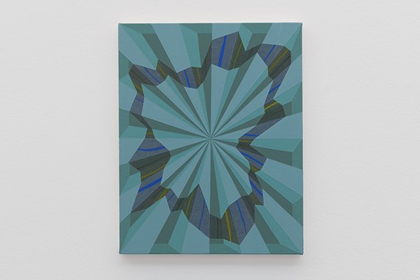 Stuart Bush Studio Blog, Tedo, 2002, Tomma Abts Serpentine Exhibition review