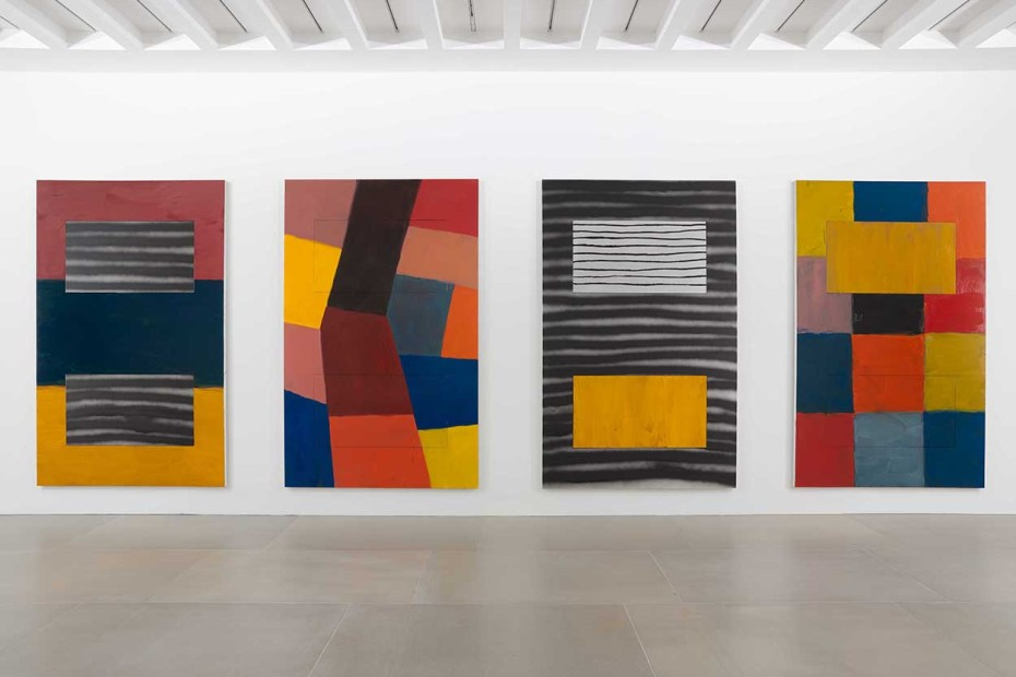 Stuart Bush Studio Notes, Sean Scully paintings, sean scully art, sean scully prints
