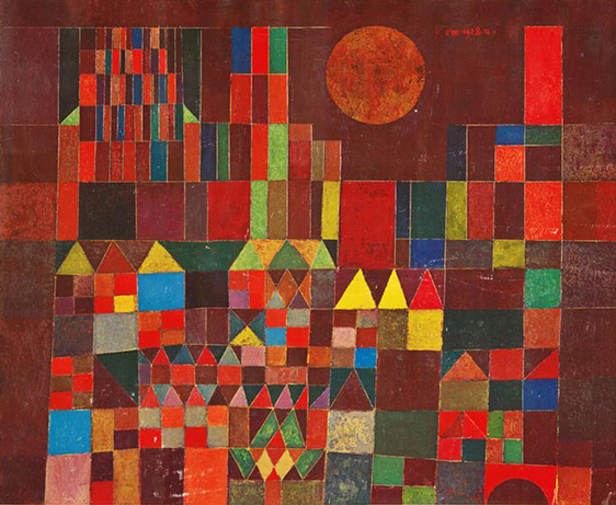 Stuart Bush Studio Blog, Paul Klee, Etel Adnans