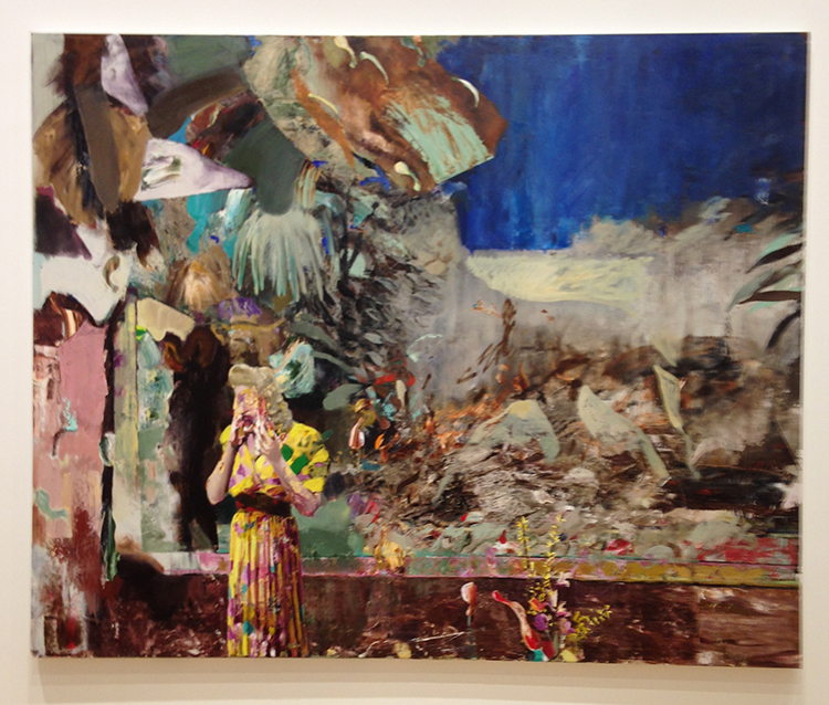 Stuart Bush Studio Blog, Adrian Ghenie, Nickelodeon, Adrian Ghenie: The fuel of failure