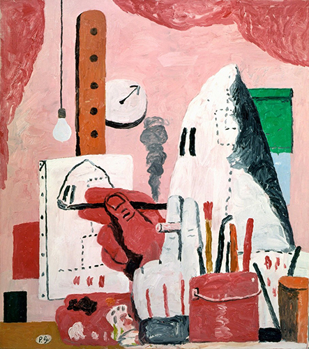 What I learnt from Philip Guston, Stuart Bush Studio notes
