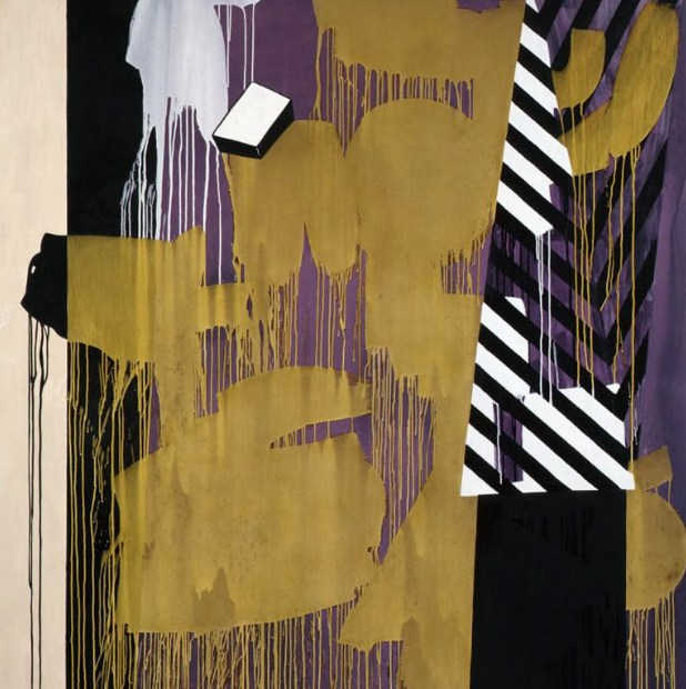 ©Charline Von Heyl, It's Vot's Behind Me That I Am (Krazy Kat), 2010 all rights remain with the artist