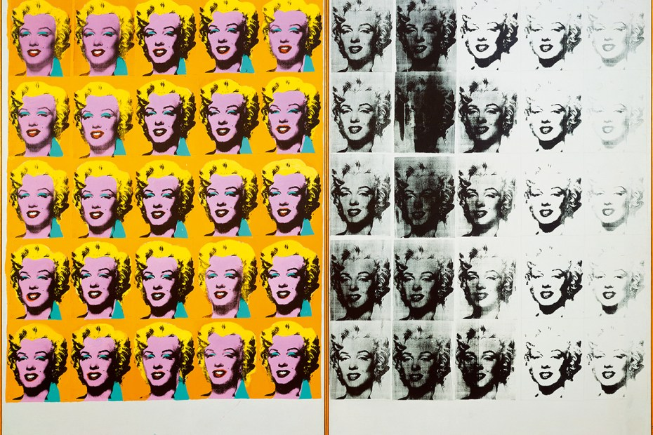 Stuart Bush Studio Notes, Andy Warhol