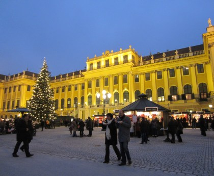 The Christmas Market in Vienna