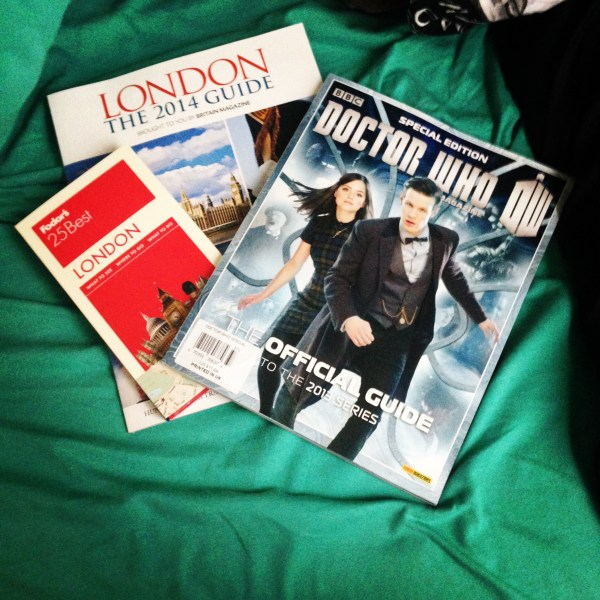 I read about all things London in the weeks before studying abroad — from city guides to some leisure reading about my favorite British show.