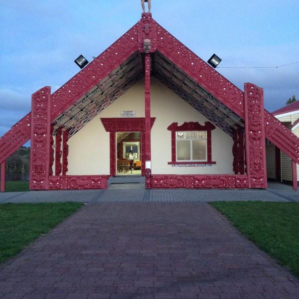 The Te Takinga Marae in Rotorua I visited while on an ISA trip.