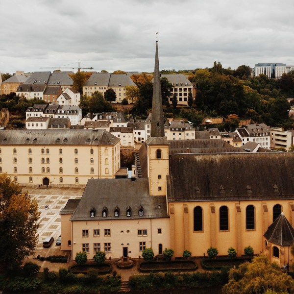 Last Saturday, a few friends and I went on a day trip to Luxembourg via train.