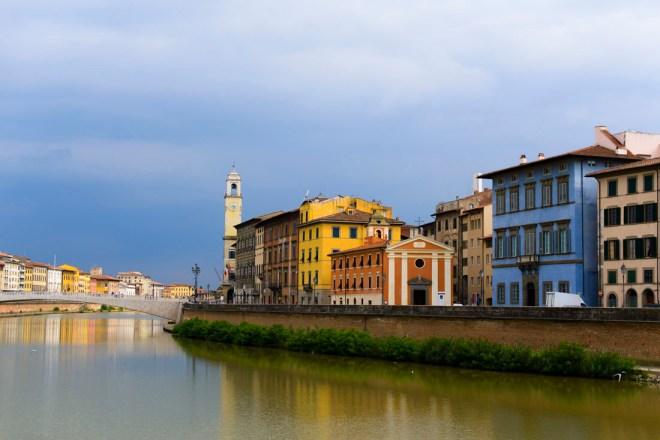 This is one of the amazing views Pisa, Italy has to offer!