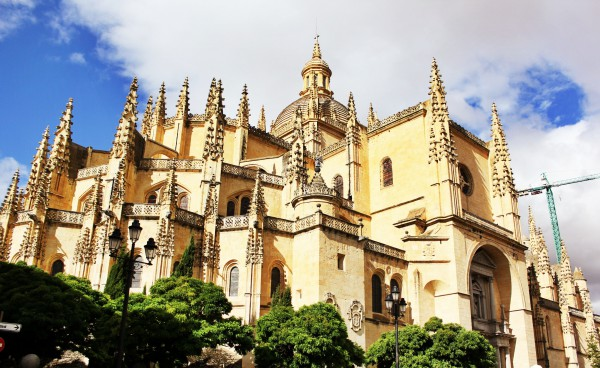 Cathedral, Segovia, Spain.