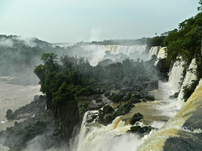 Iguazu Falls--The spectacular Iguazu Falls is an overnight bus or hour plane ride from Buenos Aires and worth seeing.