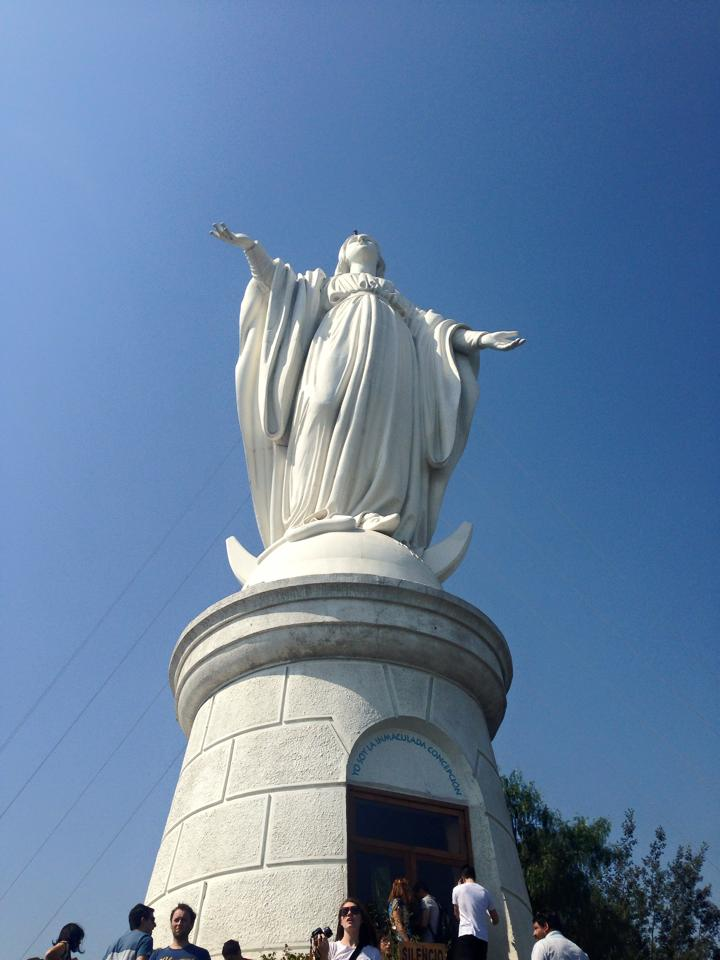 Virgin Mary, Cerro San Cristobal