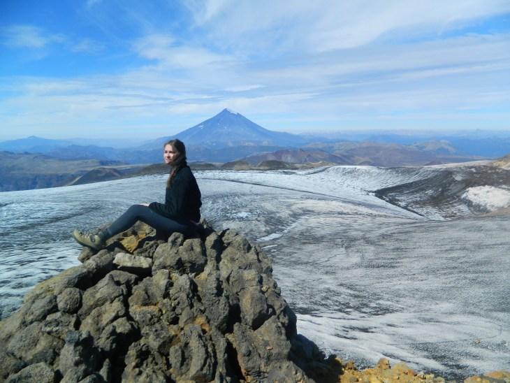 Peak of Volcano Quetrupillan