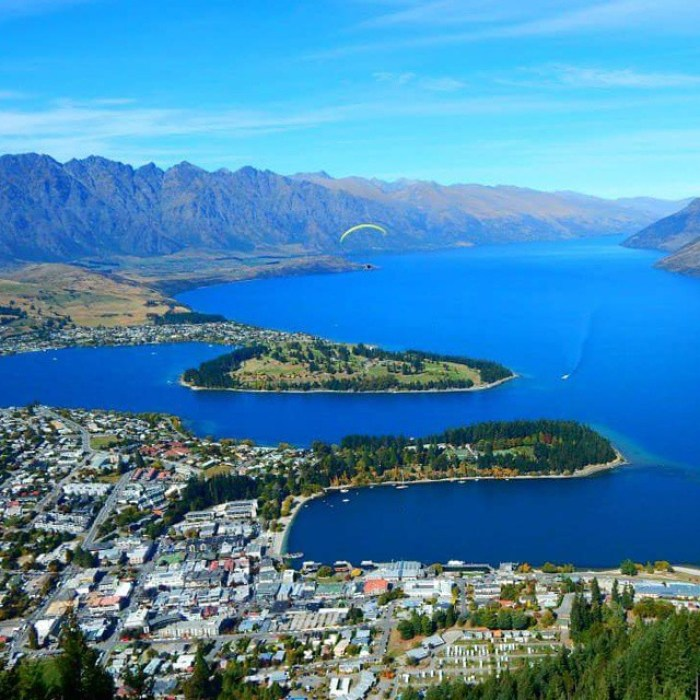 Queenstown – another amazing view via Luging platform