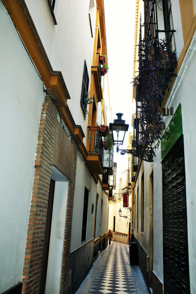 No wonder Spaniards stroll, looking how incredible (and tiny) this street is!