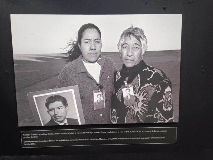 Women in exhibit