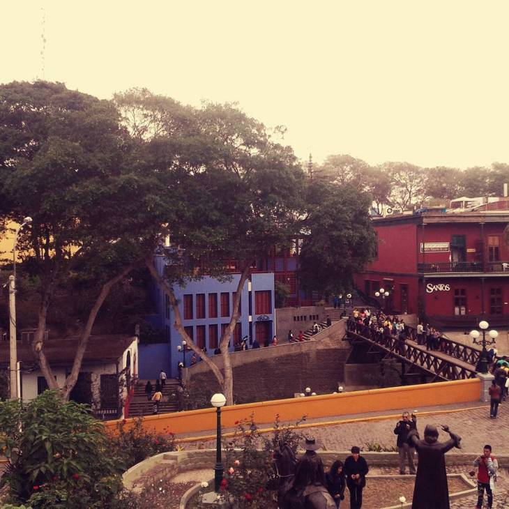 The Bridge of Sighs, Barranco, Lima