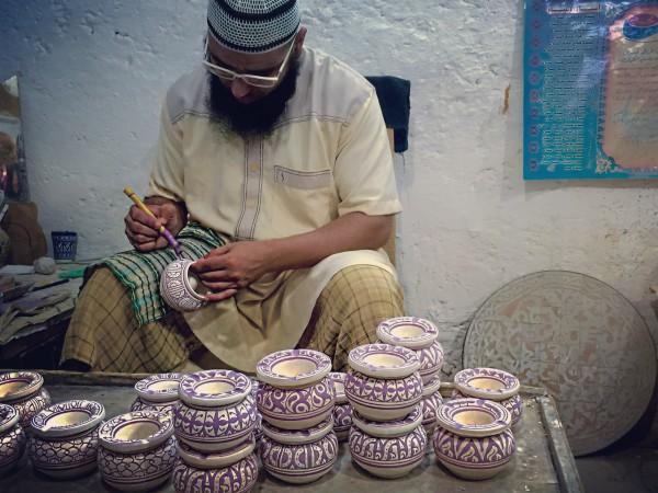 Pottery- Fez- Morocco- Olausson-Photo3