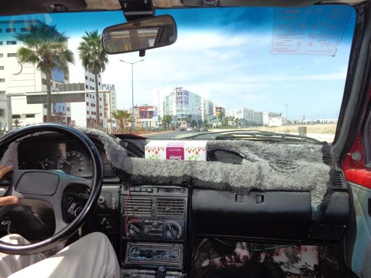 In a Cab in Casa