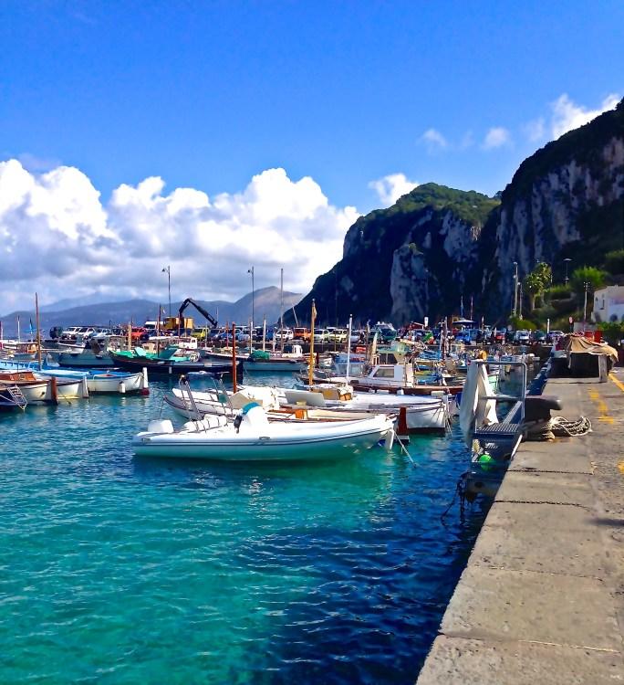 Capri Harbor.
