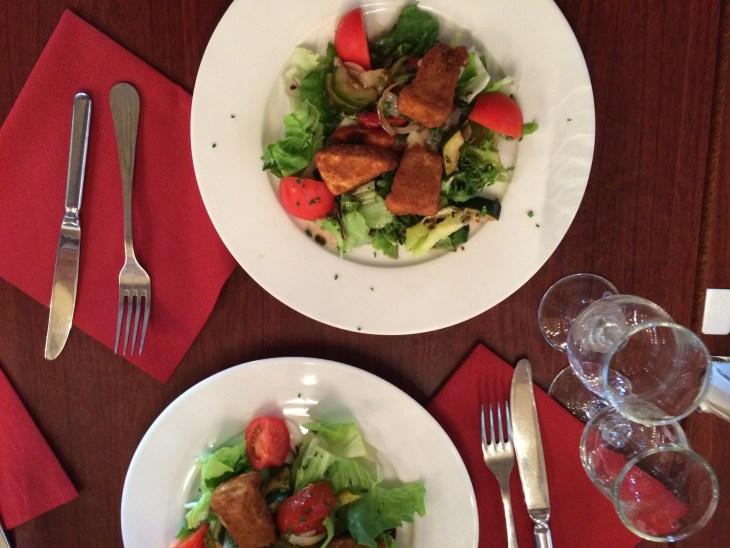 Salads, Saint Mont Michel, France, Bennett#1