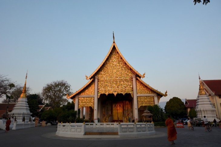 Buddhist Temple, Chiang Mai, Thailand, Foggiato - Photo 1