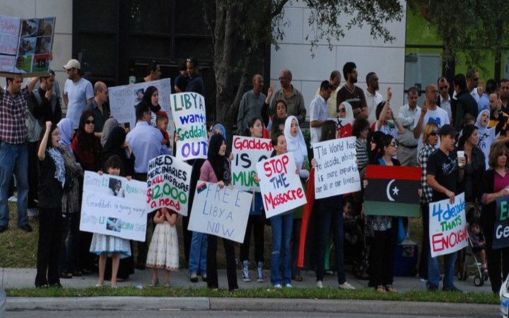 Libya Protestors, Houston, Texas - Sloan - Photo 3
