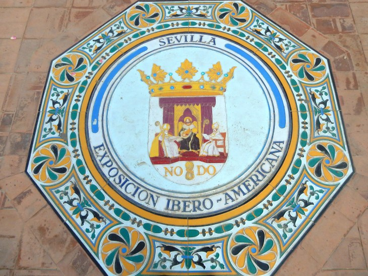 I love the tiles and ceramics at the Plaza de España.
