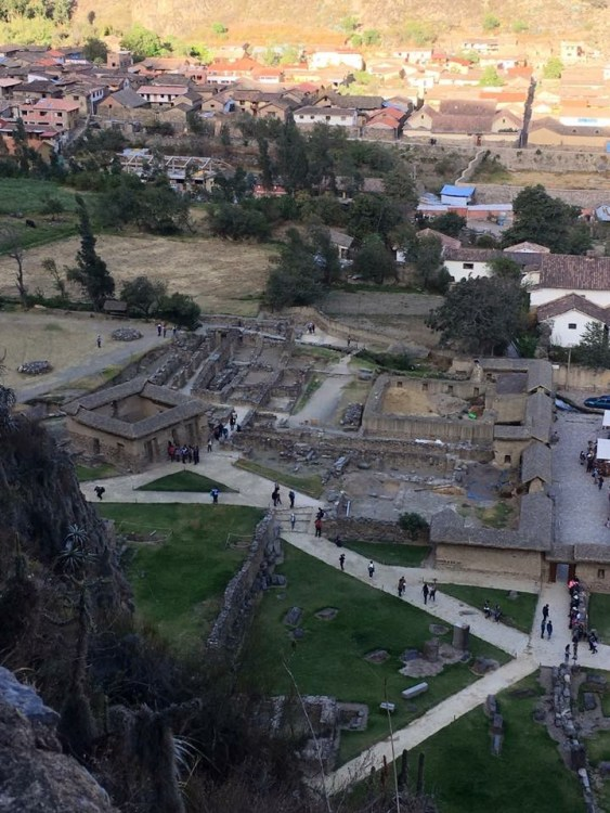 Here are some of the views I had while in Ollantaytambo